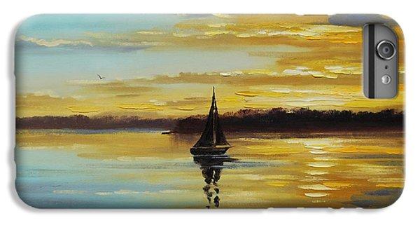Ocean Sunset iPhone 6s Plus Case - Golden Sunset by Graham Gercken