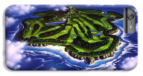Golfer's Paradise IPhone 6s Plus Case by Jerry LoFaro