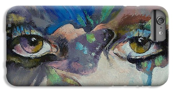 Portraits iPhone 6s Plus Case - Gothic Butterflies by Michael Creese