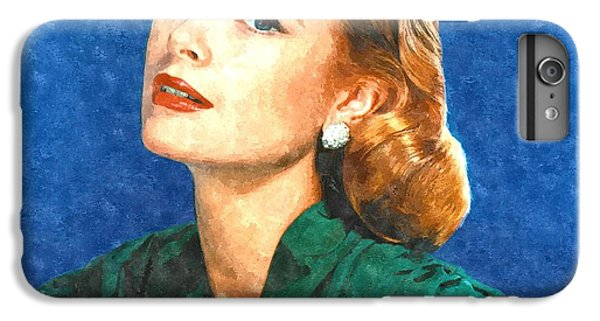 Grace Kelly Painting IPhone 6s Plus Case by Gianfranco Weiss