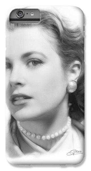 Grace Kelly iPhone 6s Plus Case - Grace Kelly Pencil by Steve K