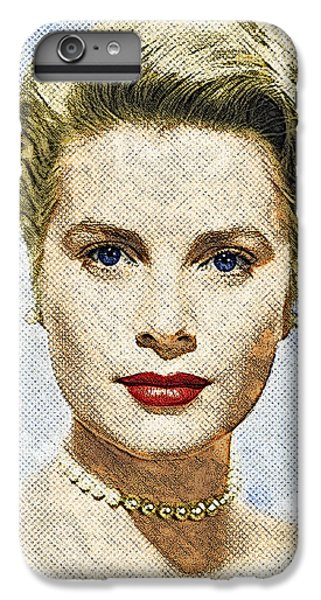 Grace Kelly IPhone 6s Plus Case by Taylan Apukovska