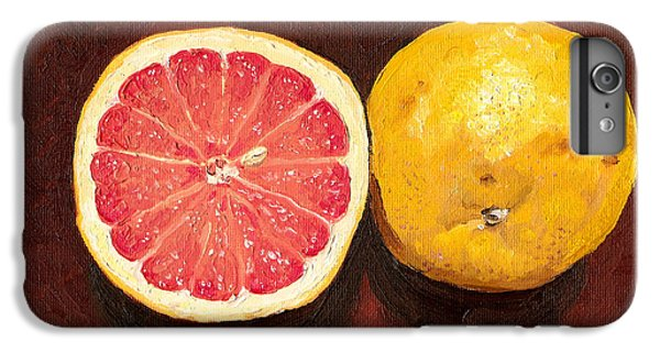 Grapefruits Oil Painting IPhone 6s Plus Case