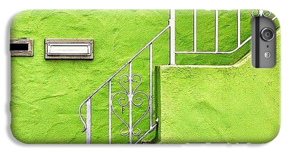 iPhone 6s Plus Case - Green House  by Julie Gebhardt