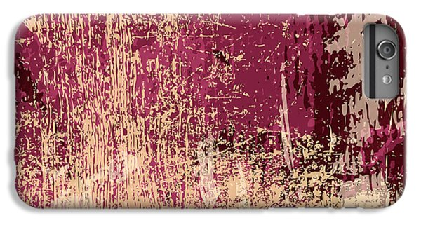 Space iPhone 6s Plus Case - Grunge Retro Vintage Paper Texture by Kaidash
