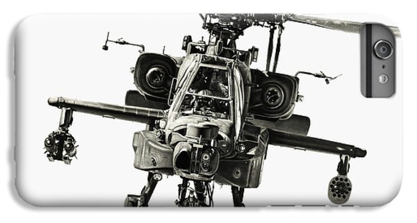 Helicopter iPhone 6s Plus Case - Gunship by Murray Jones