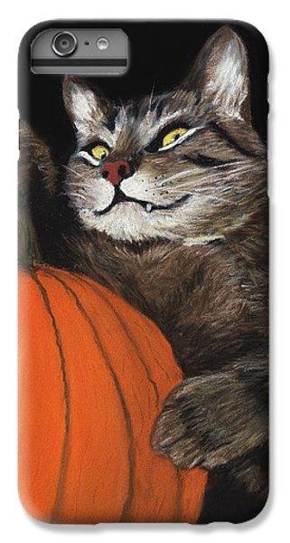Halloween Cat IPhone 6s Plus Case by Anastasiya Malakhova