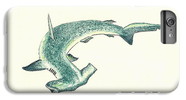 Hammerhead Shark IPhone 6s Plus Case by Michael Vigliotti