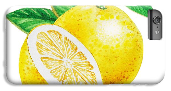 Grapefruit iPhone 6s Plus Case - Happy Grapefruit- Irina Sztukowski by Irina Sztukowski
