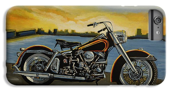 Motorcycle iPhone 6s Plus Case - Harley Davidson Duo Glide by Paul Meijering