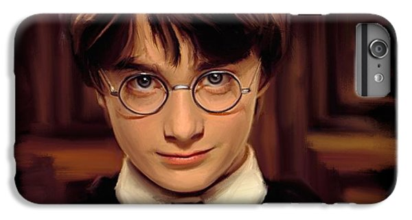Harry Potter IPhone 6s Plus Case by Paul Tagliamonte