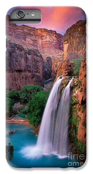 Grand Canyon iPhone 6s Plus Case - Havasu Falls by Inge Johnsson