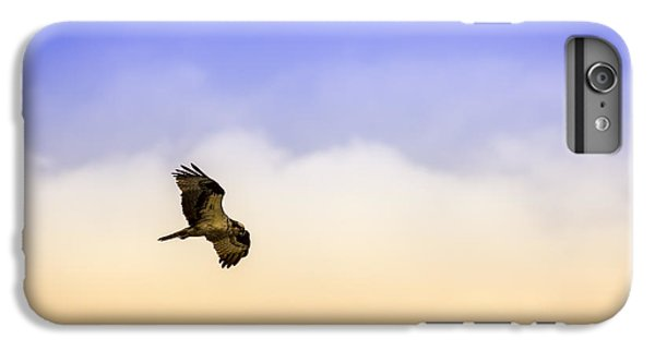 Osprey iPhone 6s Plus Case - Hawk Over Head by Marvin Spates