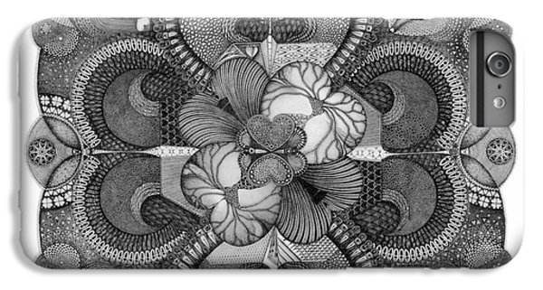 IPhone 6s Plus Case featuring the drawing . by James Lanigan Thompson MFA