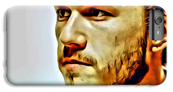 Heath Ledger Portrait IPhone 6s Plus Case by Florian Rodarte