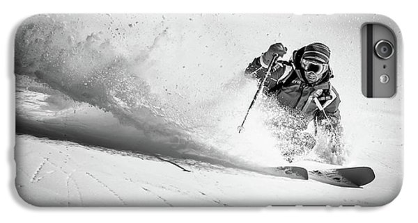Explosion iPhone 6s Plus Case - Henri Making A Powder Turn... by Eric Verbiest