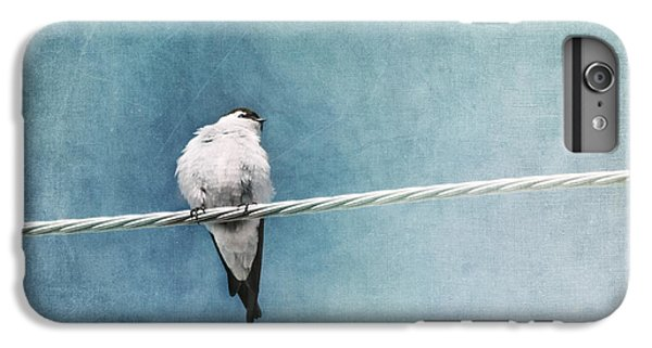 Swallow iPhone 6s Plus Case - Herald Of Spring by Priska Wettstein