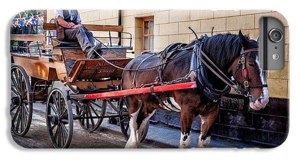 Bunting iPhone 6s Plus Case - Horse And Cart by Adrian Evans