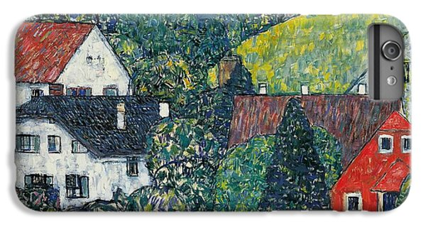 Town iPhone 6s Plus Case - Houses At Unterach On The Attersee by Gustav Klimt