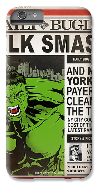 Hulk Smash - Daily Bugle IPhone 6s Plus Case