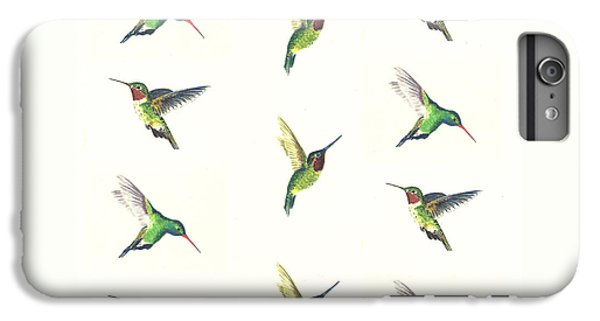 Hummingbird iPhone 6s Plus Case - Hummingbirds Number 2 by Michael Vigliotti