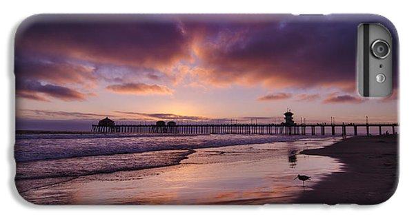 Sandpiper iPhone 6s Plus Case - Huntington Beach California by Sean Foster