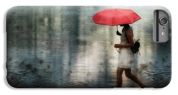 Umbrella iPhone 6s Plus Case - I'll Never Get Through This Alone... by Charlaine Gerber
