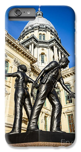 Illinois Police Officers Memorial In Springfield IPhone 6s Plus Case