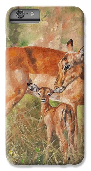 Deer iPhone 6s Plus Case - Impala Antelop by David Stribbling