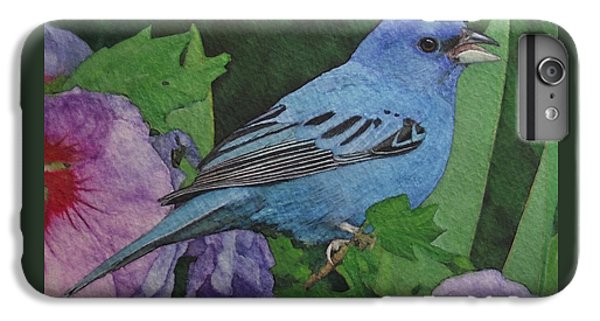 Indigo Bunting No 2 IPhone 6s Plus Case by Ken Everett