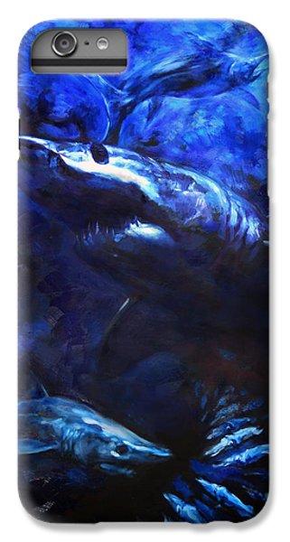 Swordfish iPhone 6s Plus Case - Inky Waters by Tom Dauria