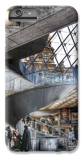 Louvre iPhone 6s Plus Case - Inside The Louvre Museum In Paris by Marianna Mills