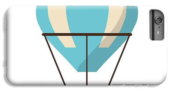 Hot iPhone 6s Plus Case - Isolated Hot Air Balloon Design by Jemastock
