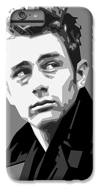 James Dean In Black And White IPhone 6s Plus Case by Douglas Simonson