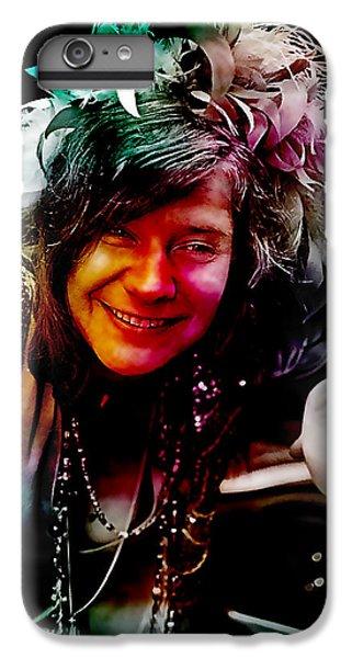 Janis Joplin IPhone 6s Plus Case by Marvin Blaine