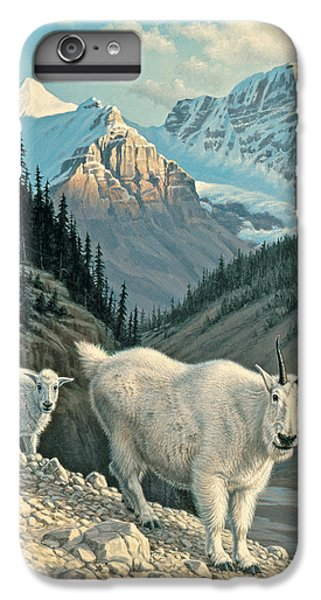 Goat iPhone 6s Plus Case - Jaspergoats by Paul Krapf