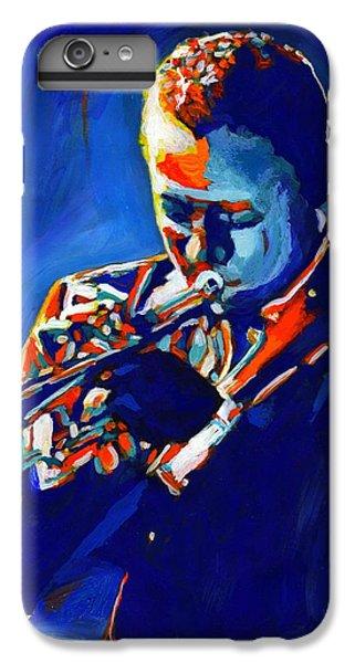 Trumpet iPhone 6s Plus Case - Jazz Man Miles Davis by Vel Verrept