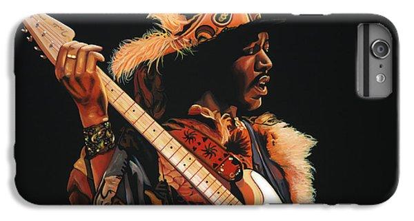 Knight iPhone 6s Plus Case - Jimi Hendrix 3 by Paul Meijering