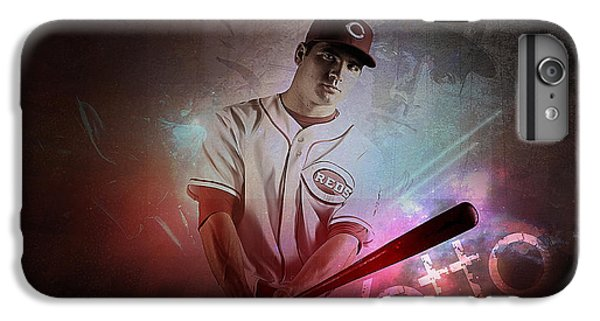 Joey Votto IPhone 6s Plus Case by Marvin Blaine
