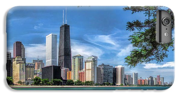 John Hancock Chicago Skyline Panorama IPhone 6s Plus Case