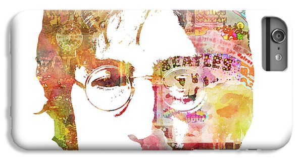 John Lennon IPhone 6s Plus Case by Mike Maher