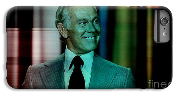 Johnny Carson iPhone 6s Plus Case - Johnny Carson by Marvin Blaine