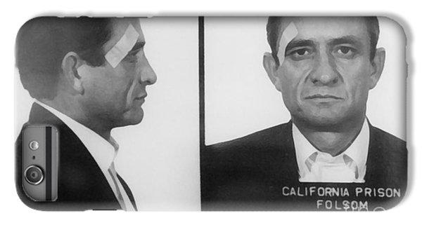 Johnny Cash iPhone 6s Plus Case - Johnny Cash Folsom Prison Large Canvas Art, Canvas Print, Large Art, Large Wall Decor, Home Decor by David Millenheft