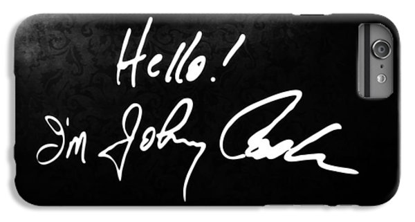 Johnny Cash iPhone 6s Plus Case - Johnny Cash Museum by Dan Sproul