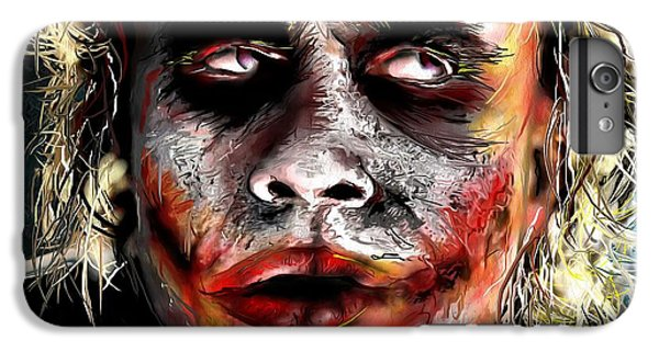Joker Painting IPhone 6s Plus Case by Daniel Janda