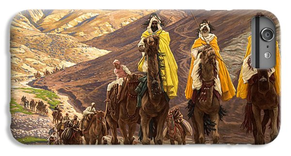 Camel iPhone 6s Plus Case - Journey Of The Magi by Tissot