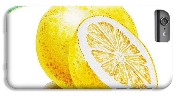 Grapefruit iPhone 6s Plus Case - Juicy Grapefruit by Irina Sztukowski