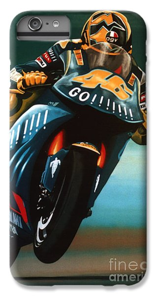 Goat iPhone 6s Plus Case - Jumping Valentino Rossi  by Paul Meijering