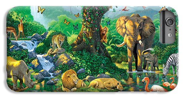 Jungle Harmony IPhone 6s Plus Case by Chris Heitt