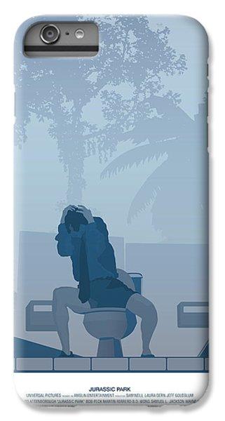 Jurassic Park Poster - Feat. Gennaro IPhone 6s Plus Case